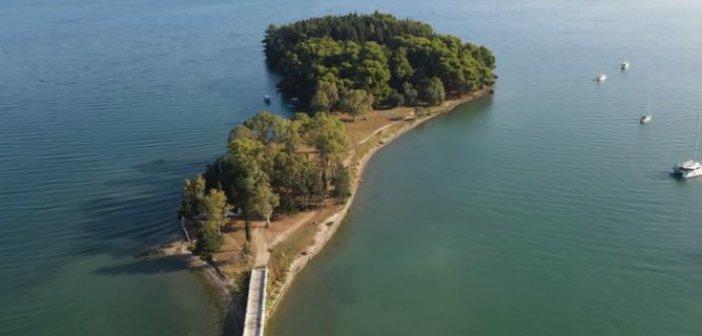 Κουκουμίτσα: Το γραφικό νησάκι της Βόνιτσας (VIDEO)