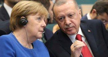 Επικοινωνία Μέρκελ – Ερντογάν για Ανατολική Μεσόγειο