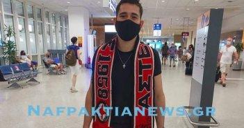 Ναυπακτιακός: Στο Ελ. Βενιζέλος ο Αργεντινός «μάγος» Emanuel Pamplo Escudero Argondizza