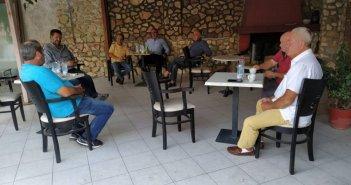 ΚΚΕ: Περιοδεία Παπαναστάση σε Νεοχώρι και Κατοχή(Δείτε ΦΩΤΟ)
