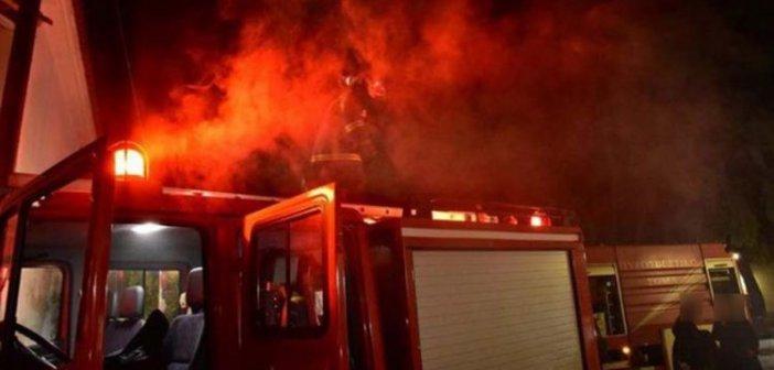 Λήξη συναγερμού για τη φωτιά κοντά στο εκκλησάκι του Αγίου Ιωάννη Ρηγανά