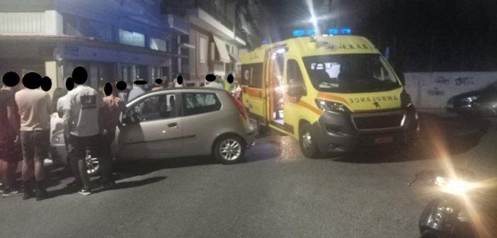 Αγρίνιο: Τροχαίο στην καρδιά της πόλης – ένας νεαρός στο νοσοκομείο (ΔΕΙΤΕ ΦΩΤΟ)