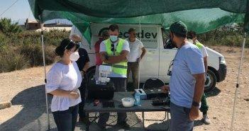 Η Αντιπεριφερειάρχης Π.Ε. Αιτωλοακαρνανίας στις εργασίες καταπολέμησης κωνοποειδών (ΔΕΙΤΕ ΦΩΤΟ)