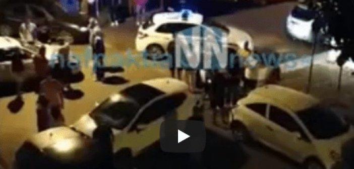 Ναύπακτος: Καραμπόλα τεσσάρων οχημάτων στην Ψανή (VIDEO)
