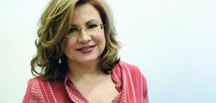 """Η Μαρία Σπυράκη στο """"Δυτικά 92,8"""": Το ζήτημα δεν είναι να καταστρέψεις οικονομικά την Τουρκία, αλλά να την οδηγήσεις να σεβαστεί το Διεθνές Δίκαιο"""