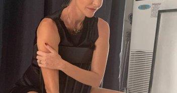 Τζένη Μπαλατσινού: Φωτογραφίζεται στον 7ο μήνα της εγκυμοσύνης της