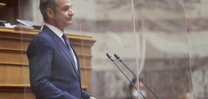 Βουλή – Live: Η ομιλία του πρωθυπουργού στην Βουλή