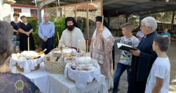 Αρχιερατική Θεία Λειτουργία για πρώτη φορά στην Ψώριαρη – Σιαδημέικα