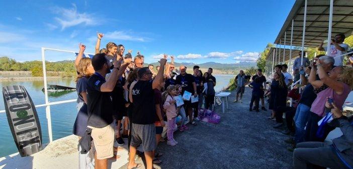 Ολοκληρώθηκε το πανελλήνιο πρωτάθλημα Wakeboard