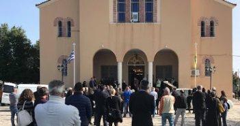 Παναιτώλιο: Οδύνη στην κηδεία του μικρού Κωνσταντίνου