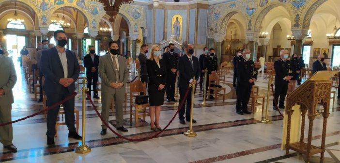 Εορτασμός του προστάτη του Σώματος της Ελληνικής Αστυνομίας Μεγαλομάρτυρα «Αγίου Αρτεμίου» και της Ημέρας της Αστυνομίας