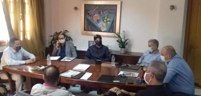 Συνάντηση του Αντιπεριφερειάρχη Θεόδωρου Βασιλόπουλου με τον Δήμαρχο Ναυπάκτου Βασίλη Γκίζα για θέματα αγροτουρισμού
