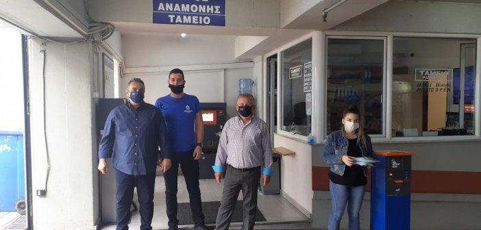 Αγρίνιο: Δωρεάν μάσκες στους οδηγούς από την Εταιρεία Στάθμευσης