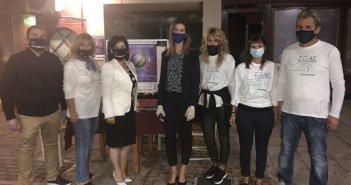 Η Π.Ε. Αιτωλοακαρνανίας συμμετείχε στην Ευρωπαϊκή Νύχτα Χωρίς Ατυχήματα, σε Μεσολόγγι και Αγρίνιο (ΦΩΤΟ)