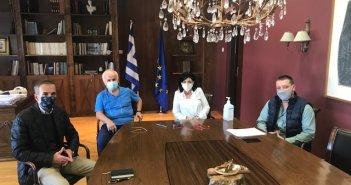 Συνάντηση της Αντιπεριφερειάρχη Μαρίας Σαλμά με παραγωγικούς φορείς της Αιτωλοακαρνανίας