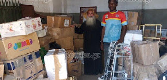 Η Κανάγκα δέχτηκε τα δώρα της αγάπης από τον Ιεραποστολικό Σύλλογο Αγίου Κοσμά του Αιτωλού