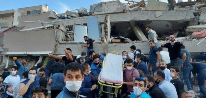Τουλάχιστον 4 νεκροί και 120 τραυματίες από το σεισμό στη Σμύρνη