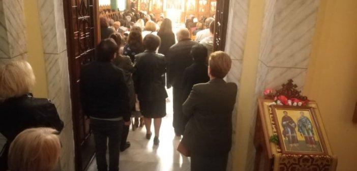 Αγρίνιο: Ακολουθία του Εσπερινού προς τιμήν των Αγίων Κοσμά και Δαμιανού, των Αγίων Αναργύρων