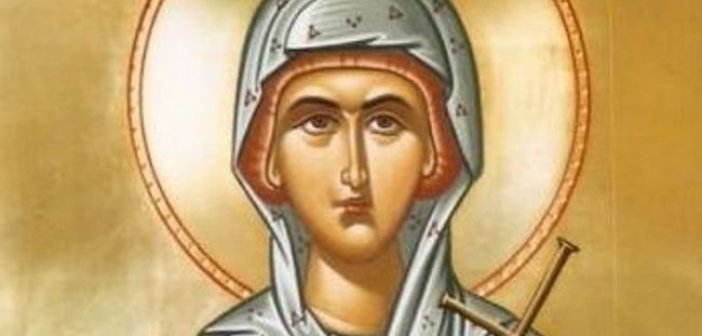 Σήμερα 13 Οκτωβρίου εορτάζει η Αγία Χρυσή η Νεομάρτυς