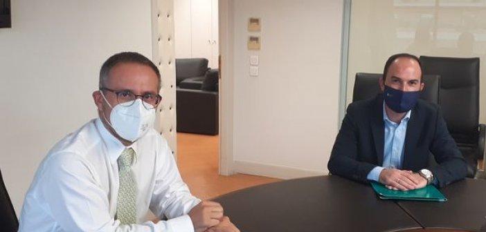 Συνάντηση του Αντιπεριφερειάρχη Λ. Δημητρογιάννη με τον Διευθύνοντα  Σύμβουλο του ΔΕΔΔΗΕ