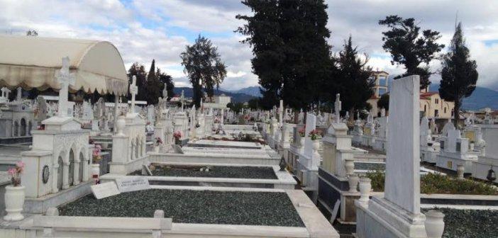 Αγρίνιο: Εργασίες συντήρησης κοιμητηρίων του Δήμου