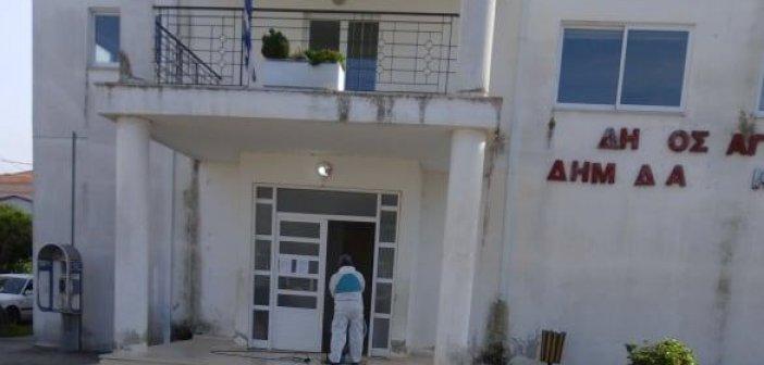 Καλύβια: Κλειστό το Κοινοτικό Κτίριο, λόγω απολύμανσης