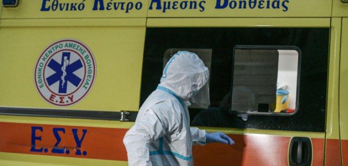 Κορωνοϊός: 30χρονος με βαριά πνευμονία μεταφέρθηκε από το Αγρίνιο στο Ρίο