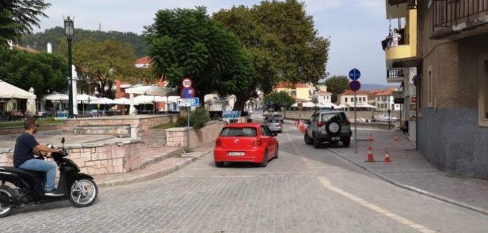 Ναύπακτος: Άνοιξε ο δρόμος στο λιμάνι (VIDEO)