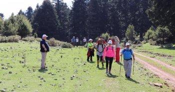 Το Ορειβατικό τμήμα του Π.Κ.Ε. Ο.Τ.Ε. Ν. Αττικής σε ορειβατική & περιβαλλοντική εξόρμηση στην Κοιλάδα Αχελώου