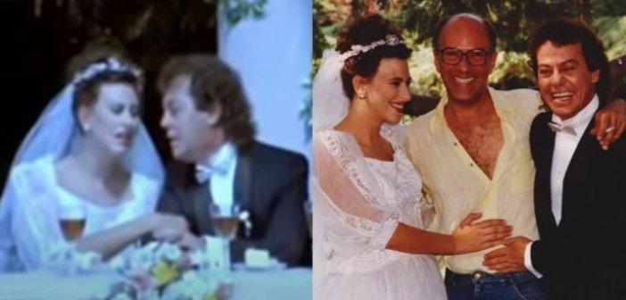 """Όταν η Ελευθερία Αρβανιτάκη """"παντρεύτηκε"""" τον Γιάννη Πάριο: Ο άγνωστος """"γάμος"""" που ελάχιστοι θυμούνται"""