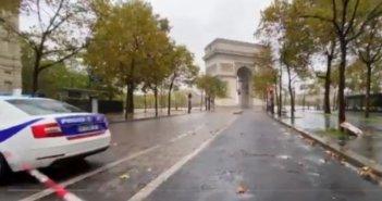 Λήξη συναγερμού στο Παρίσι: Δεν βρέθηκε βόμβα – Αποκλείστηκε η Αψίδα του Θριάμβου