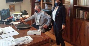 Συνεδρίαση Συντονιστικού Οργάνου Πολιτικής Προστασίας Π.Ε. Αιτωλοακαρνανίας (ΦΩΤΟ)