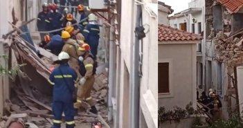 Τραγωδία: Νεκρά δύο παιδιά στη Σάμο -Τοίχος τα καταπλάκωσε μετά τον σεισμό