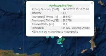Κρήτη: Χορεύει στον ρυθμό των Ρίχτερ – 25 σεισμικές δονήσεις το τελευταίο 24ωρο