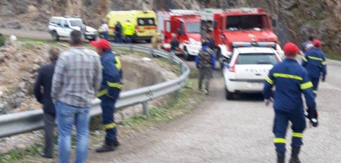 Τραγικό τροχαίο με δυο νεκρούς κοντά στα Βρουβιανά Βάλτου