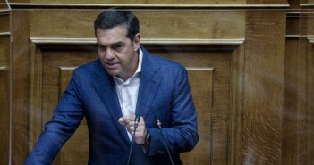 Ο Τσίπρας κατέθεσε πρόταση μομφής κατά Σταϊκούρα -Για τον πτωχευτικό κώδικα