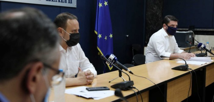 Κορονοϊός: Ανακοίνωσε «χάρτη υγειονομικής ασφάλειας» ανά περιοχή ο Χαρδαλιάς! Πώς θα λειτουργεί (VIDEO)