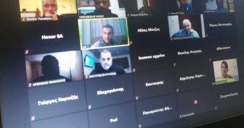 Παναιτωλικός: Τηλεδιάσκεψη Τμημάτων Υποδομής με ομιλητή τον Τρ. Δέλλα