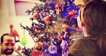 Ο Νεκτάριος Φαρμάκης σε οικογενειακό Xριστουγεννιάτικο κλίμα