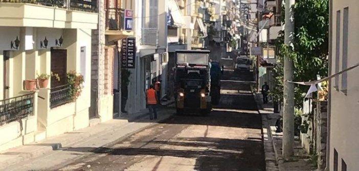 Ναύπακτια:Ασφαλτοστρώσεις σε όλο το δήμο