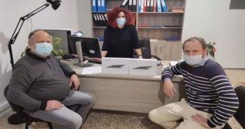 Δήμος Ακτίου-Βόνιτσας: Δίπλα σε μαθητές και εκπαιδευτικούς διανέμοντας 550 tablets