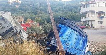 Δυτική Ελλάδα-Γιαννιτσοχώρι: Νεκρός σε τροχαίο 24χρονος οδηγός νταλίκας (PHOTOS)