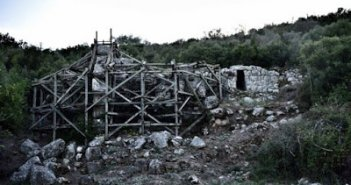 Eργασίες συντήρησης στον κηρυγμένο αρχαιολογικό χώρο της Παλαιομάνινας