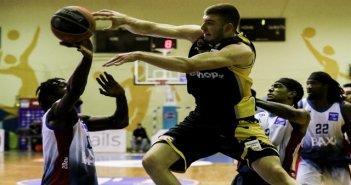Χαρίλαος Τρικούπης-ΑΕΚ 66-87: Άνετη εκτός έδρας νίκη για την Ένωση