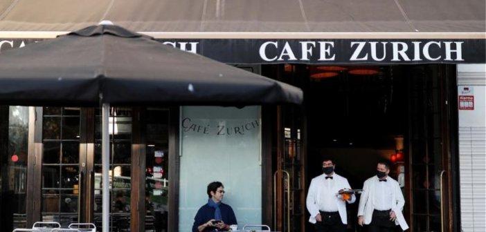 Κορωνοϊός – Ισπανία: Άνοιξαν μετά από πέντε εβδομάδες τα μπαρ κι εστιατόρια στη Βαρκελώνη