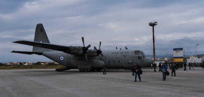 Με C-130 μεταφέρονται στην Αθήνα τρεις σοβαρά ασθενείς με κορονοϊό από την Δράμα!