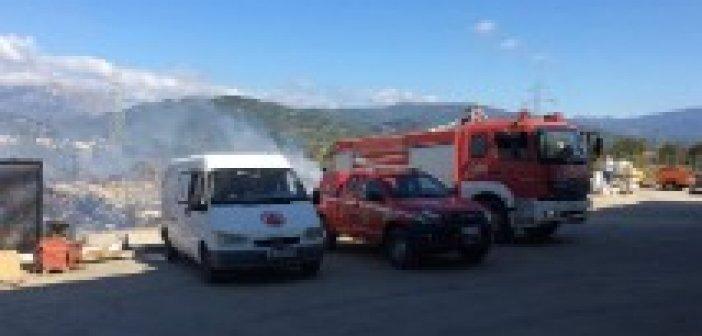 Πυρκαγιά στην Δάφνη Ναυπακτίας (VIDEO + ΦΩΤΟ)