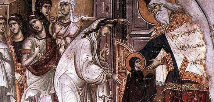 Σήμερα 21 Νοεμβρίου τα Εισόδια της Θεοτόκου: Τί ακριβώς γιορτάζουμε