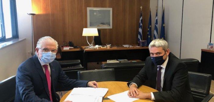Εκ νέου επικοινωνία Κ.Καραγκούνη με Λυκουρέντζο και Παπαευθυμίου για πληρωμή αποζημιώσεων στους παραγωγούς