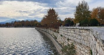 Γιάννενα: Η λίμνη «στέγνωσε»..